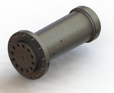 螺旋式摆动油缸